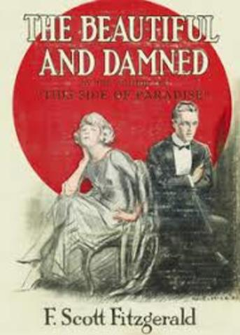 """Scott Publishes """"The Beautiful and The Damned"""""""