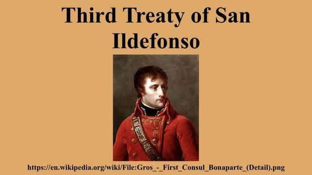Segundo Tratado de San Ildefonso