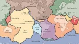 Desarrollo de las placas tectónicas timeline