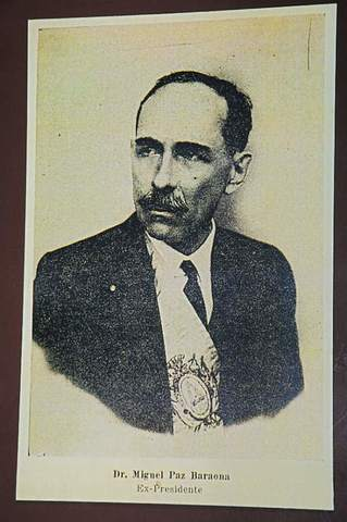 Miguel Paz Barahona (1925-1929)
