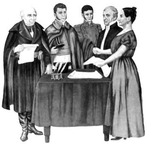 Miguel y Josefa Ortiz de Domínguez