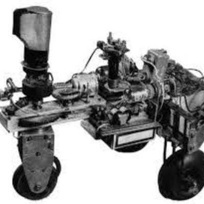 Frise historique sur la robotique de John HAWKSLEY timeline