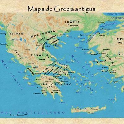 Eje cronológico de Grecia Antigua timeline