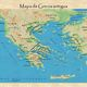 Mapa de grecia antigua