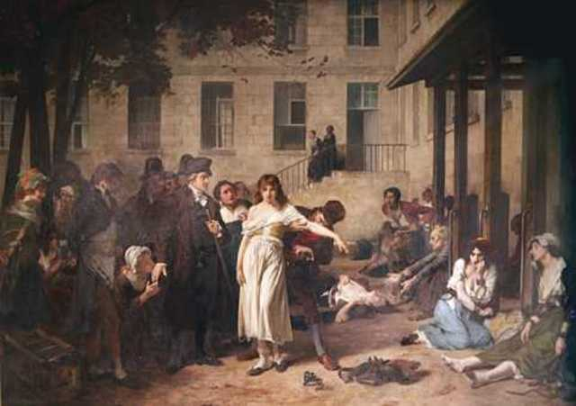 Se remplazan los calabozos por habitaciones en los pacientes psiquiátricos en París.