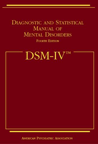 Se publica la DSM-IV
