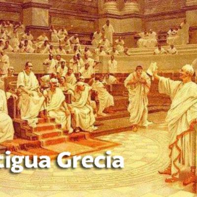 """Eje  cronológico de cultura clásica 3ºEso """"La Antigua Grecia"""" (Fernando y Daniel Vera) timeline"""