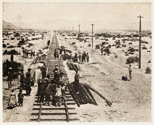 Completion of Transcontinental Railroad