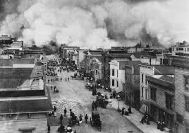 San Francisco Earthquake and Fire