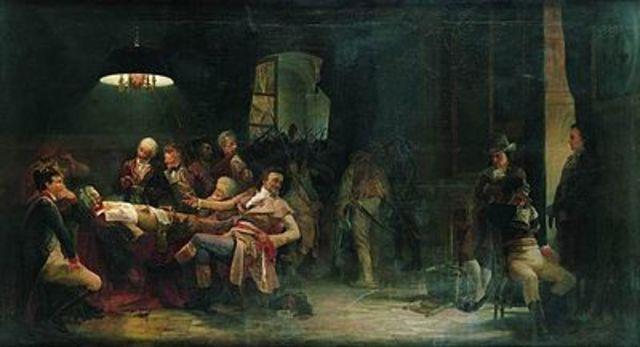 Caiguda i execució de Robespierre