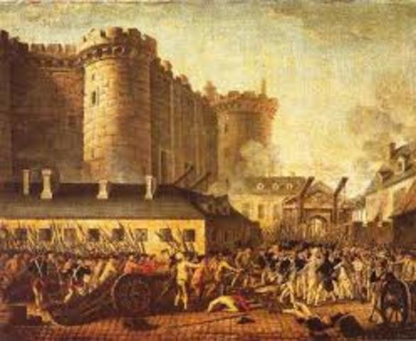 Presa de Bastilla