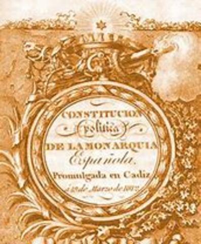 EL REI ACCEPTA LA CONSTITUCIÓ ESPANYOLA