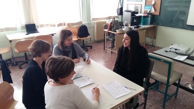 Συνάντηση καθηγητών και υποψηφίων μαθητών του Erasmus+