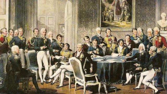 Congreso de Viena. Santa Alianza.