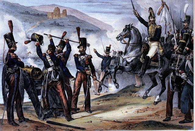 Invasión de los 'Cien mil hijos de San Luis'.