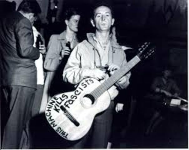 Woody Guthrie is Born