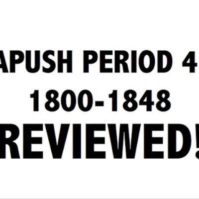 APUSH Period 4 timeline