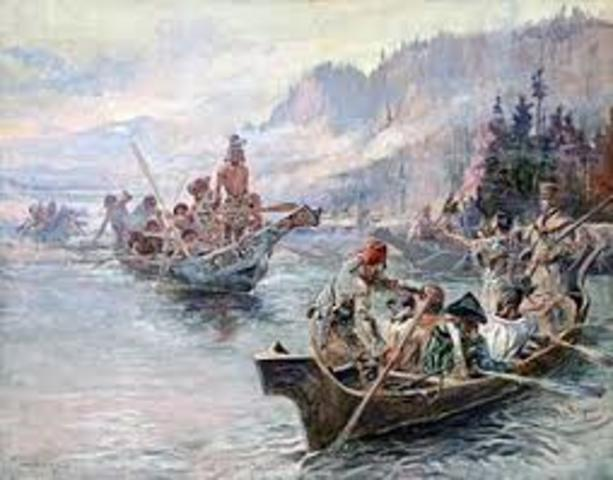 Beginning of Lewis and Clark Expedition