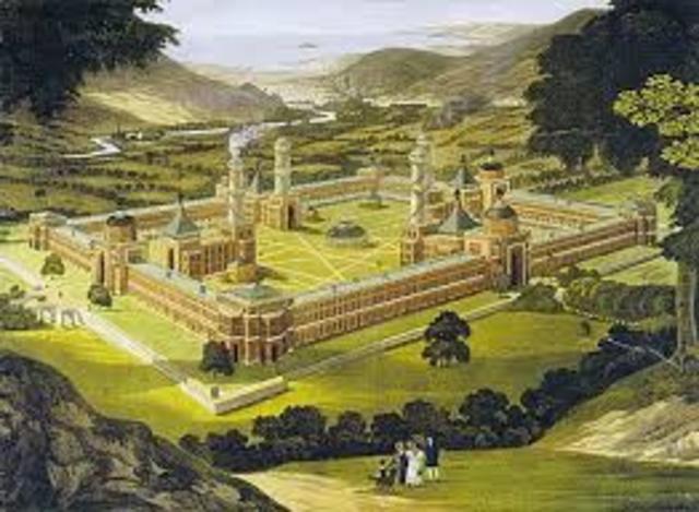 Robert Owen Founded the New Harmony Community