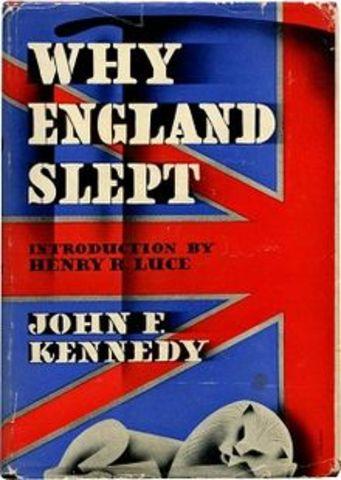 """Why England Slept"""