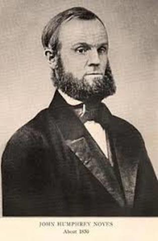 John Humphrey Noyes Founded the Oneida Community
