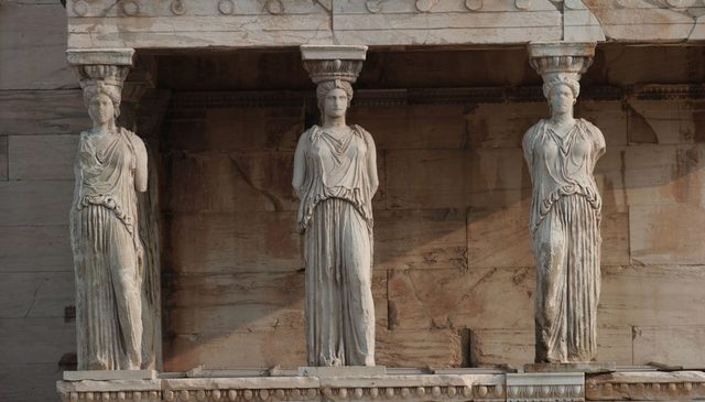 The 3 periods of the Greek art