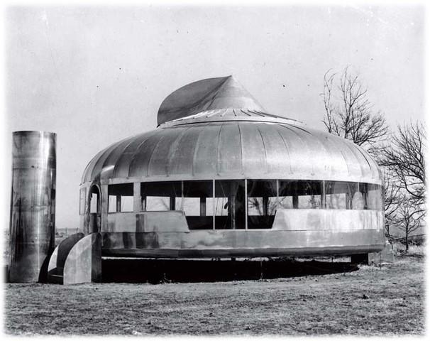 Casa Wichita (1947) Por Richard Buckminster Fuller