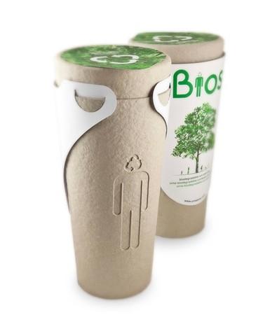 Urna Biodegradable (1997) por Gerard Moliné