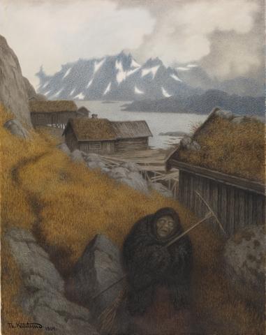 Svartedauden treffer Norge