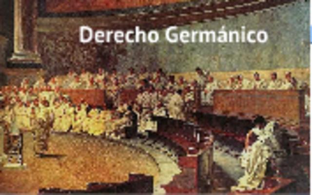 DERECHO GERMÁNICO