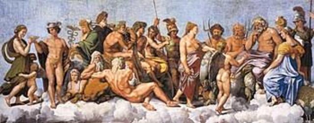 Los dioses deciden en asamblea el retorno de odiseo