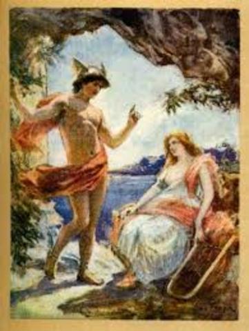Ulises conoce a la princesa se esqueria