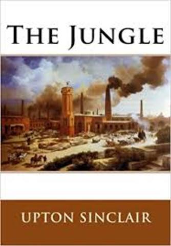 """Upton Sinclair Releases """"The Jungle"""""""