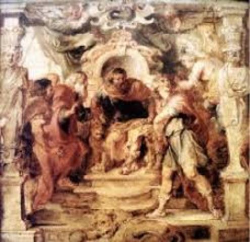 el rey sugiere que ellos viajen a esparta hablar con menelao