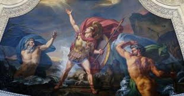nestor aregla que su hijo pisistrato acompañe a telemanco a esparta