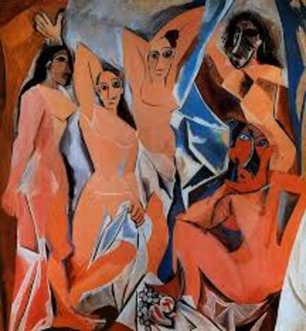 Les demoiselels d'Avignon - Pablo Picasso