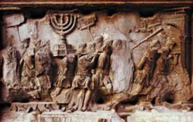 Roman Rule of Israel (begins)
