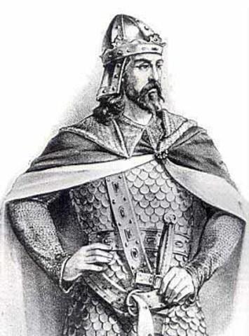 Alfonso VI entra en Toledo