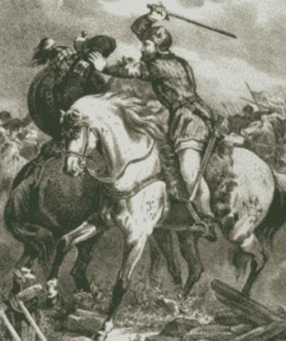 Alfonso VI es condenado en Sagrajas