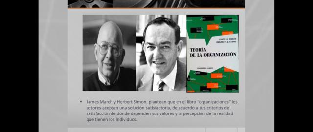 JAMES MARCH Y HERBERT SIMON