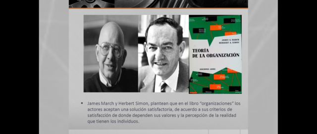 JAMES MARCH Y HERBERT SIMON