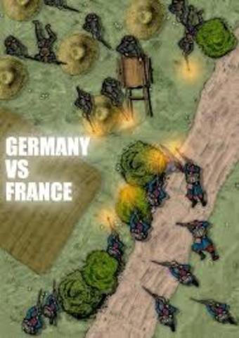 Germany Declares War On France