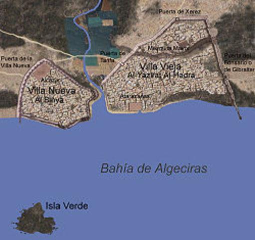 Alfonso XI conquista Algeciras
