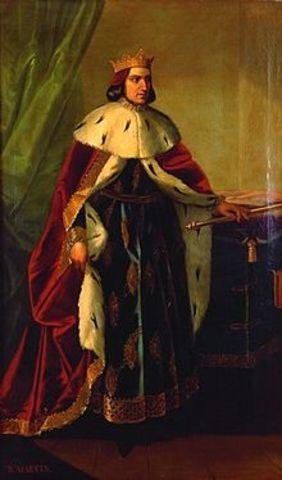Muere Martín I el humano de Aragón