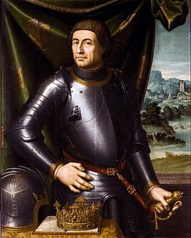 Alfonso V conquista Nápoles