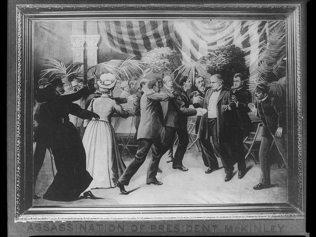 President McKinley is Assassinated and Theodore Roosevelt Becomes President