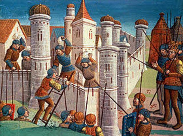 Los Turcos se apoderan de Constantinopla