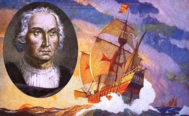 Primer viaje Cristobal Colón