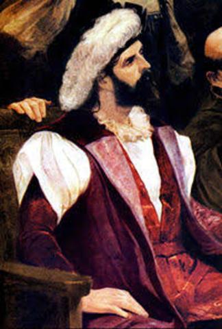 El portugués Pedro Álvarez Cabral llegó a las costas de Brasil