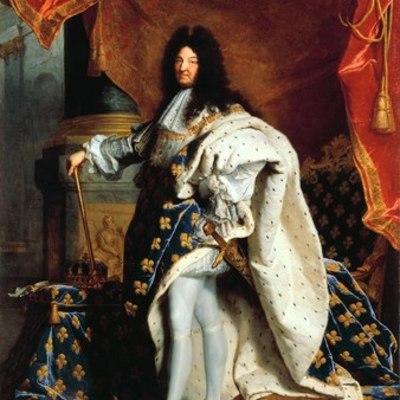 XIV. Lajos élete timeline